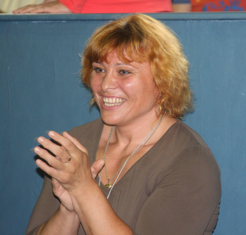 Титулованная дзюдоистка Ирина Родина радуется за Брулетову